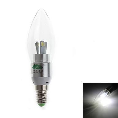3W E14 LED-kaarslampen C35 6 SMD 280-300 lm Natuurlijk wit Decoratief AC 220-240 V