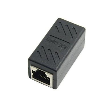 cat6 rj45 femelle à femelle adaptateur d'extension de câble réseau connecteur Ethernet LAN avec bouclier