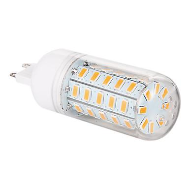 3.5W 350-400lm G9 LED Mais-Birnen T 48 LED-Perlen SMD 5730 Warmes Weiß 220-240V