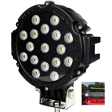 Automatisch Lampen 51W Krachtige LED 17 Werklamp