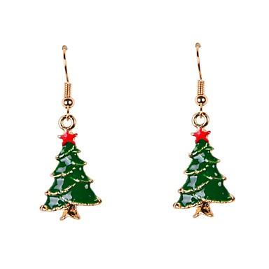 Pentru femei Cercei Picătură Crăciun Email Aliaj Bijuterii Petrecere Zilnic Casual Sport Costum de bijuterii