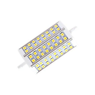 10W R7S LED лампы типа Корн T 48 SMD 5050 650lm lm Тёплый белый Регулируемая AC 220-240 V