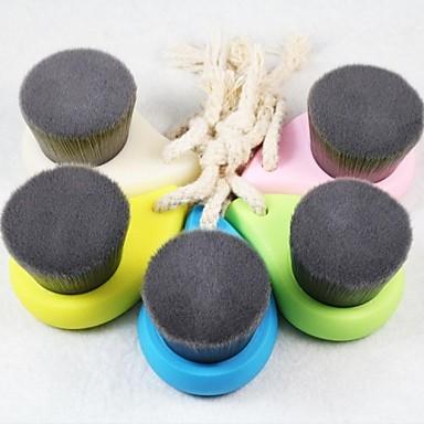 moale perie de curatare faciala profunda a porilor de bambus curat perie din fibre cărbune îngrijirea feței