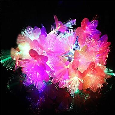 20-4m führte wasserdicht Weihnachtsdekoration bunten Blumen RGB-LED-String-Licht (220V)