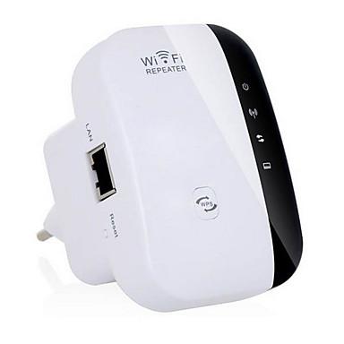 Reallink ® New Opgradering Wireless-N Wifi Repeater 802.11n/g/b Network Router Range Expander Signalforstærker 300Mbps