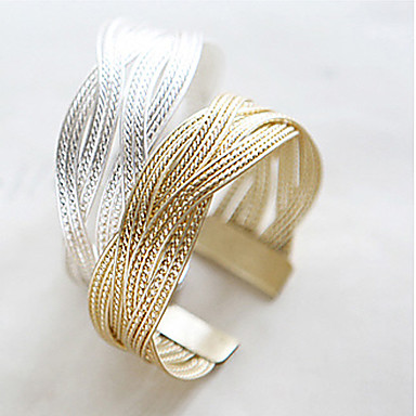 Women's Chain Bracelet Personalized Bridal Alloy Jewelry Jewelry Christmas Gifts Wedding Party Daily Casual