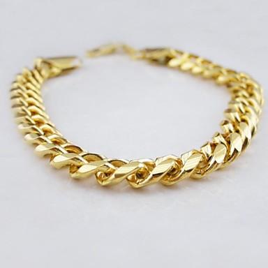 Herrn Figaro Kette Ketten- & Glieder-Armbänder - Einzigartiges Design, Modisch Armbänder Golden Für Weihnachts Geschenke / Hochzeit / Party