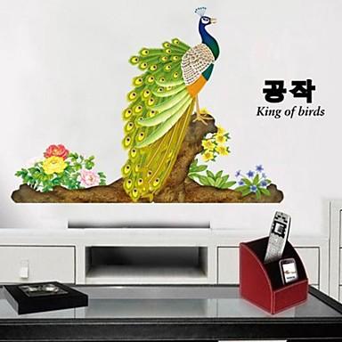 Животные ботанический абстракция фантазия Наклейки Простые наклейки Декоративные наклейки на стены материал Влажная чистка Съемная