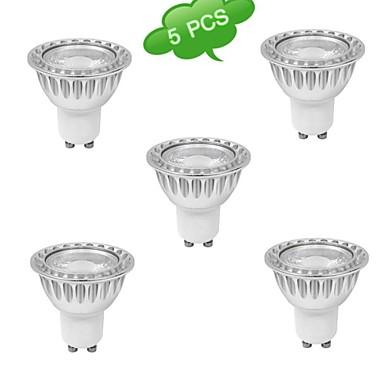 GU10 LED szpotlámpák MR16 1 led COB Meleg fehér 630lm 3000K AC 85-265V