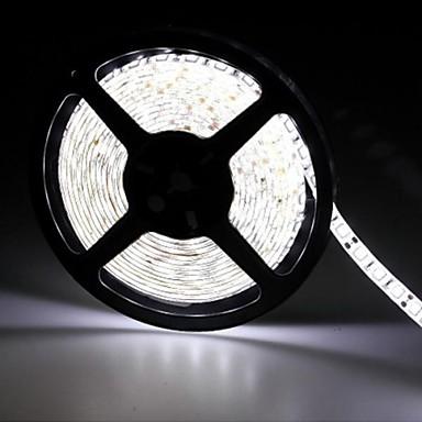 10m Fâșii De Becuri LEd Flexibile / Bare De Becuri LED Rigide / Fâșii RGB LED-uri 5050 SMD RGB Telecomandă / Ce poate fi Tăiat / Intensitate Luminoasă Reglabilă 100-240 V / De Legat / Auto- Adeziv