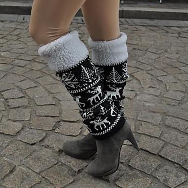 Ski Socken / Beinlinge / Knielinge Damen Warm / warm halten / Windundurchlässig Snowboards Blumen / Pflanzen Skifahren / Camping &