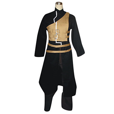 Inspirat de Naruto Gaara Anime Costume Cosplay Costume Cosplay Peteci Manșon Lung Geacă Vestă Pantaloni Centură Pentru Bărbați