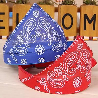 Katze Hund Bandanas & Mützen Hundekleidung Schwarz Purpur Rot Blau Rosa PU-Leder Baumwolle Kostüm Für Haustiere Cosplay Hochzeit