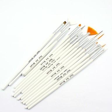 voordelige Nagelgereedschap & Apparatuur-15pcs nail art schilderij borstel kits nail art uv gel penborstel