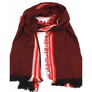 91b1d7fdd82 dámské pruh šátek velký rozměry pelerína dvojí účel vínová 2444724 ...