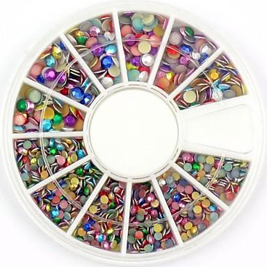 1 Nail Jewelry Glitter & Poudre Diğer Süslemeler Çiçek Soyut Klasik Karikatür Sevimli Düğün Punk Yüksek kalite Günlük