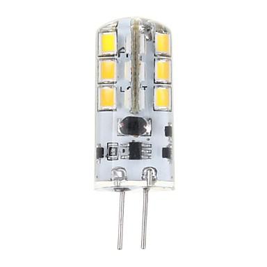 3W G4 LED Mısır Işıklar T 24 SMD 2835 200 lm Sıcak Beyaz DC 12 V