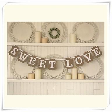 День Святого Валентина Плотная бумага Свадебные украшения Классика Зима Весна Лето Осень