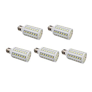 E26/E27 Becuri LED Corn 60 SMD 5050 630 lm Alb Natural AC 220-240 V 5 bc