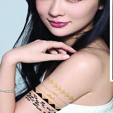Tattoo Stickers Others Glitter Pattern Waterproof Women Girl Adult Teen Flash Tattoo Temporary Tattoos