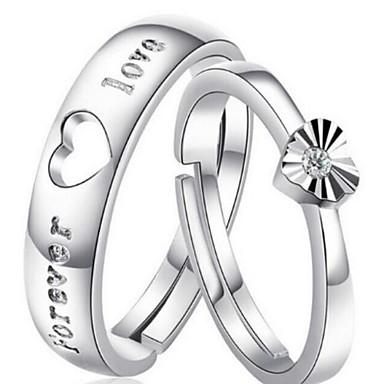 Herrn / Damen / Paar Ring - 1 Kreisform Stilvoll / Klassisch Ring Für Hochzeit / Party / Party / Abend