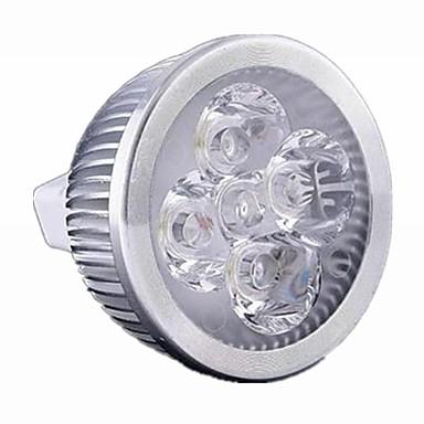 1pc 5W 500 lm GU5.3(MR16) LED Spot Lampen MR16 4 Leds Hochleistungs - LED Abblendbar Warmes Weiß Kühles Weiß