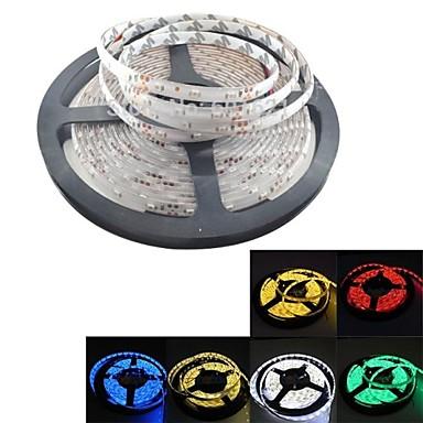 5m Flexible LED-Leuchtstreifen 300 LEDs 3528 SMD Warmes Weiß / Weiß / Rot Wasserfest 12 V / IP65