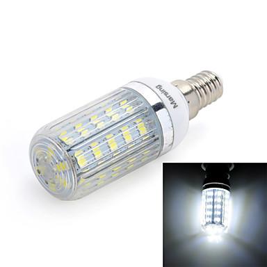 E14 LED corn žárovky T 36 LED diody SMD 5730 Chladná bílá 420lm 6000-6500K AC 220-240V
