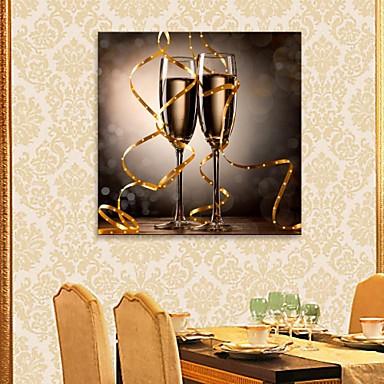 LED-canvaskunst Stilleven Eén paneel Print Muurdecoratie Huisdecoratie