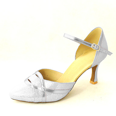 Closed Toe Sparkling Glitter With Ankle Strap Dance Shoes (More Colors) Customizable