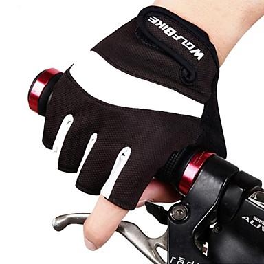 West biking Спортивные перчатки Муж. Универсальные Перчатки для велосипедистов Осень Весна Лето ВелоперчаткиС защитой от ветра
