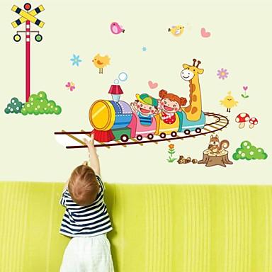 Animals Cartoon Wall Stickers Animal Wall Stickers Decorative Wall Stickers, Vinyl Home Decoration Wall Decal Wall
