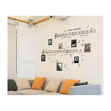 muurstickers muur stickers, stijl prachtige notities pvc muurstickers