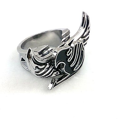 Jewelry Inspired by Fairy Tail Cosplay Anime Cosplay Accessories Ring Alloy Men's New