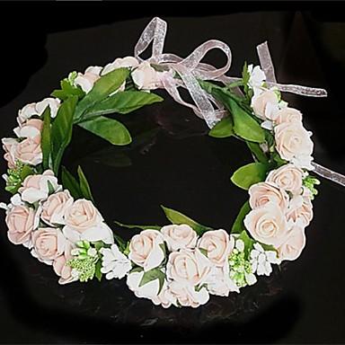 Kristal Kumaş - Tiaras Çiçekler Çelenkler 1 Düğün Parti / Gece Başlık