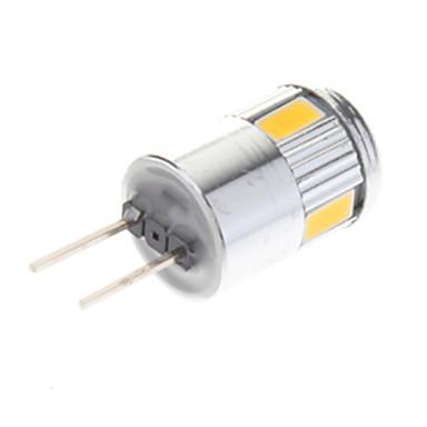 G4 Точечное LED освещение 6 SMD 5730 220 lm Тёплый белый Холодный белый AC 12 V 10 шт.