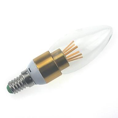 MORSEN E14 4W 6 Integrate LED 450 LM Тёплый белый C35 edison Винтаж LED лампы в форме свечи AC 85-265 V