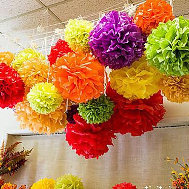 Seidenpapier Dekoration Fasergemisch Hochzeits-Dekorationen Hochzeit / Party / Hochzeitsfeier Blumen / Klassisch Ganzjährig