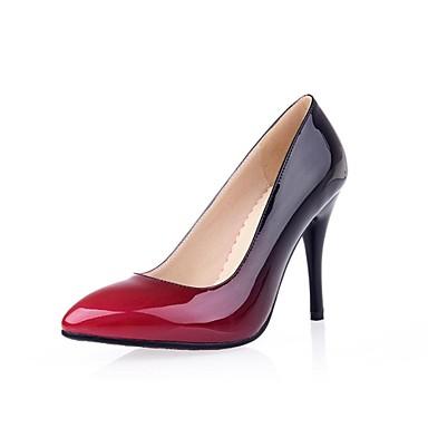 ... Noir Eté Orange 02673972 Cuir Marron Femme Aiguille Chaussures Talon  Habillé Printemps Verni Rouge pour IzZnZO ... 976fc47416fb