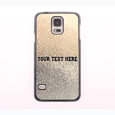 személyre szabott telefon esetében - arany csepp víz kialakítás fém tok Samsung Galaxy S5