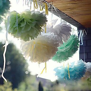 Hochzeitsfeier Perlenpapier Fasergemisch Hochzeits-Dekorationen Strand / Garten / Blumen / Klassisch Winter Frühling Sommer Herbst