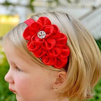Minden évszak Lány Hajdísz, Sifon Fejpántok - Bézs Piros