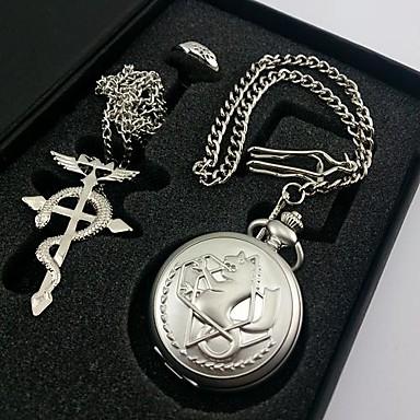 Муж. Жен. Кварцевый Карманные часы Подарок Классический Металлический сплав Группа Традиционный / винтаж Серебристый металл