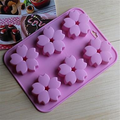 Blume Obstkuchen Plätzchen Kuchen Silikon Umweltfreundlich Gute Qualität Urlaub Backform