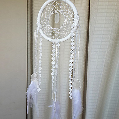 Angel White Dream Catcher