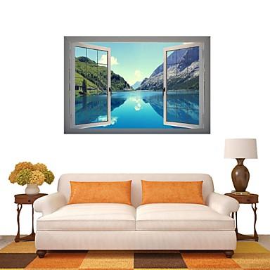 3d наклейки для стен наклейки на стены, природный ландшафт наклейки декор виниловые обои