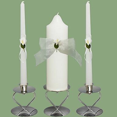 Hage Tema / Blomster Tema / Klassisk Tema Stearinlys favoriserer - 3 pcs Stearinlys Gavepose