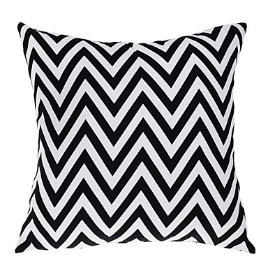 1 pcs Polyester Pillow With Insert Pillow Cover, Geometric Modern/Contemporary