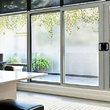 Art Deco Klasik Pencere Çıkartması,PVC/winyl Malzeme pencere Dekorasyonu