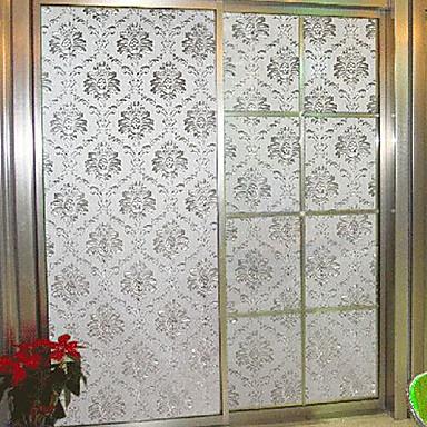 Art Deco Classical Window Film,PVC/Vinyl Material Window Decoration